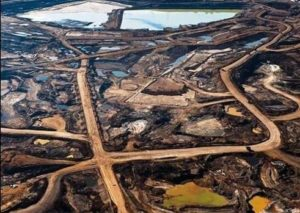 The largest industrial project on the planet: the Athabascan Tar Sands of Alberta, Canada