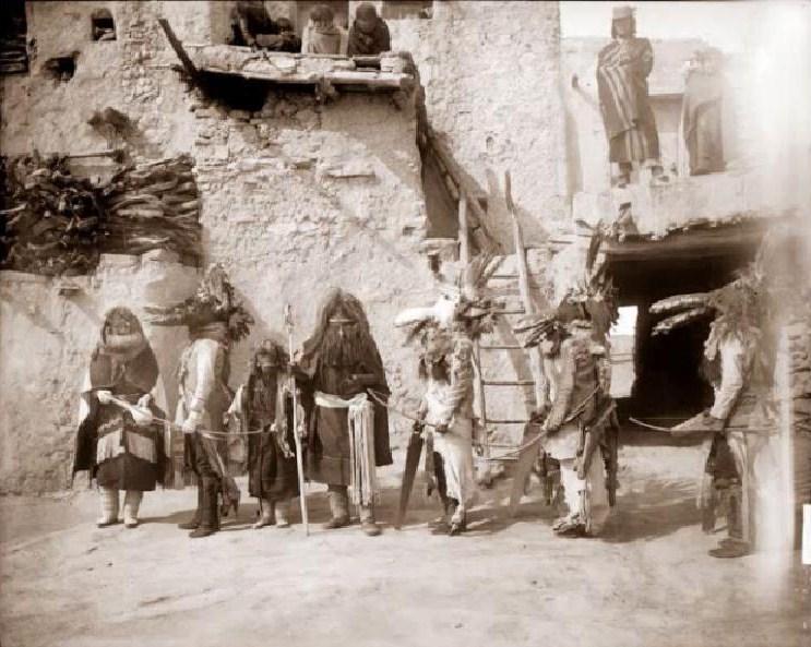 Hopi indigenous ceremony kachina