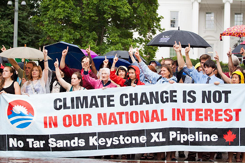 Rally opposing Keystone XL