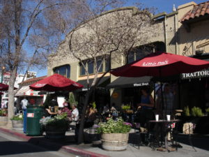 walkable neighborhood, served by transit, with varied housing and commercial stock