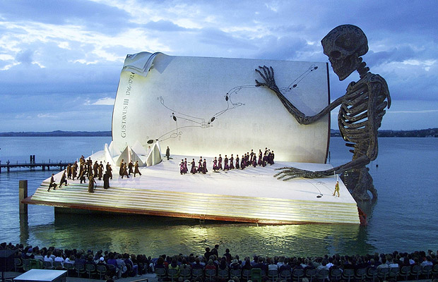 opera on Lake Constance, Austria