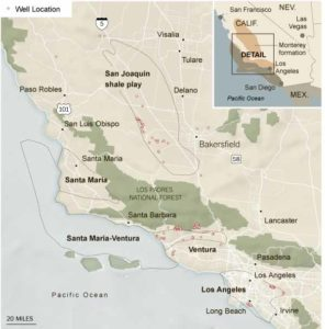 fracking, hydrofracturing, California
