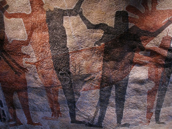 aboriginal rock art, Sierra de San Francisco, Harry Crosby