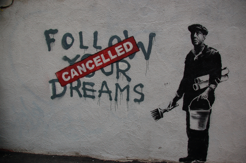 Banksy, graffiti art